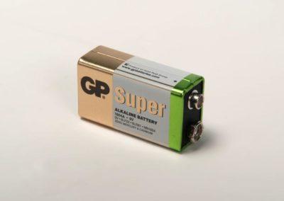 9-Volt Batterie Alkalien